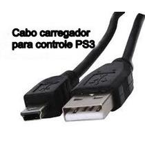 Cabo Usb Para Carregar Controle De Ps3 Com 1,80 Metros