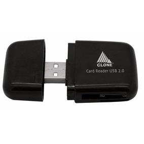 Leitor De Cartão De Memoria Usb Clone Cod 13065
