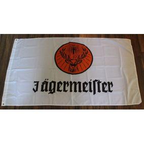Bandera Jagermeister 150x90cm Club Licor Hierbas Aleman 808