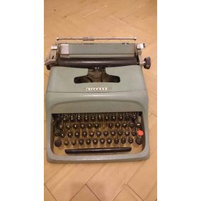 Maquina De Escribir Antigua Marca Olivetti Decoración Bares