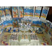 Candy Bar Completo Todas Las Temáticas!50 Golosinas!!promo6