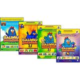 Galinha Pintadinha - Coleção 4 Dvds Infantil + Brinde