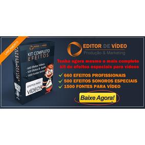 Efeitos Especiais Para Videos