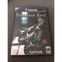 Resident Evil 1 Remake Gamecube Americano Completo !!