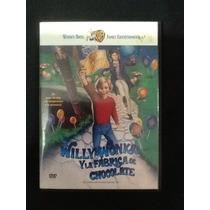 Película Dvd Willy Wonka Y La Fabrica De Chocolates