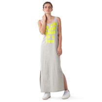 Vestidos Casuales Largos Colmena Gris Columpio Diseño Vene