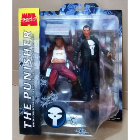 Tk0 Toy Marvel Select The Punisher 1st Ed 2002 Justiceiro