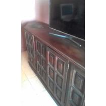 Mueble Antiguo... Estilo Ingles.. Algarrobo!