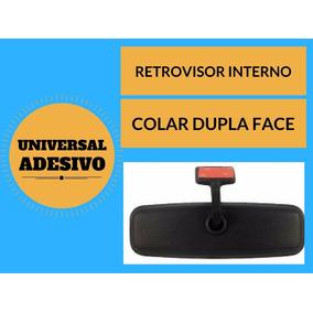 Retrovisor Interno Universal Colar Dupla Face Serve Em Todos