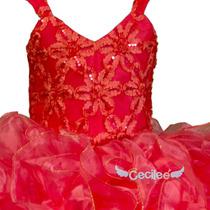 Vestido Elegante Niña Exclusivo Bv