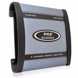 Pyle Combo Potencia 4 Canales 1600w+bazooka +kit Instalacion