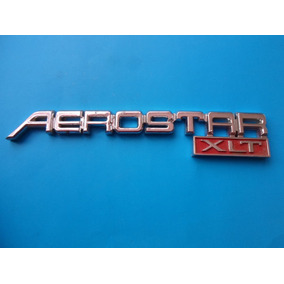 Emblema Aerostar Xlt Ford Camioneta