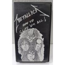 Vhs - Metallica - Home Vid - Cliff
