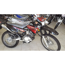 Yamaha Xtz 125cc 2016 Negra, Blanca Y Azul