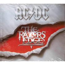 Acdc - The Razors Edge Cd Lacrado Digipack