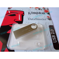 Pendrive 4g Kingston 100% Original Sellado Blister Metalica