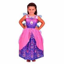 Disfraz Barbie Mariposa Violeta Super Oferta!!!