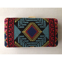 Cartera De Mano / Clutch Boho Hippie Chic