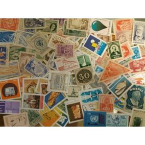 200 Selos Comemorativos Sem Carimbo Diferentes - Brasil