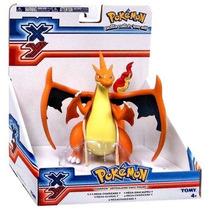 Pokémon Xy Figura Articulada Vinil Mega Charizard Y 2016