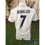 Jersey Real Madrid Local 2017 Adidas Ronaldo 7 100% Original