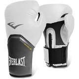Luva Boxe Elite Pro Style Everlast - Branco - 12oz