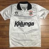 Camisa Corinthians Clássica - Kalunga - 1991 - Retrô