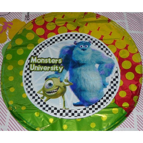 Monster University Globos Metalizados Cumple Deco Cotillon