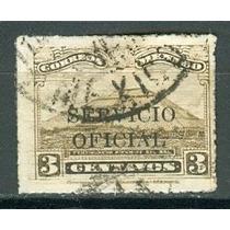 Sc O200 Año 1932 Oficial Piramide Del Sol Teotihuacan 3c
