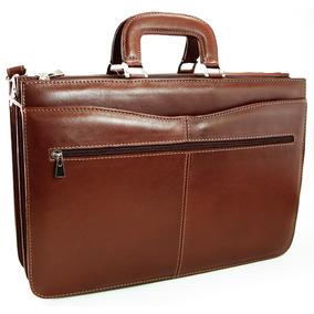 Maletin Cuero Portafolio Attache Porta Notebook Fabricante
