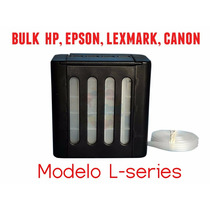 Reservatorio L-serie Bulk Hp Epson Lexmark Canon Antirefluxo