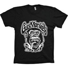 Camiseta Gas Monkey Garage Dallas Texas - 100% Algodão!!