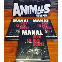 Manal Vivo En Red House Cd + Dvd Ya En Stock Nuevo Cerrado