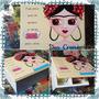 Caja De Te Frida - Dos Cronopios - Pintada A Mano