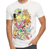 Playera O Camiseta Nickelodeon 90s Arnold,rugrats,castores,