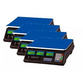 Kit 4 Balança Eletrônica Digital 40kg Bivolt Alta Precisão