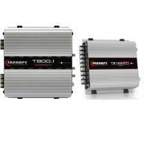 Modulo Amplificador Taramps T800 T 800w Rms + Ts400 X4 400 W