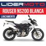 Bajaj Rouser 200ns - Blanca - Exclusivo Lidermoto! 4441-0485
