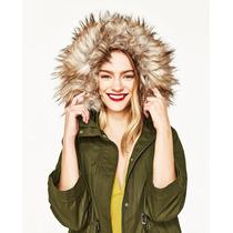 Campera Zara,parka,chaqueta,abrigo!