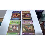 Dvd Coleção Cocoricó 4 Unidades