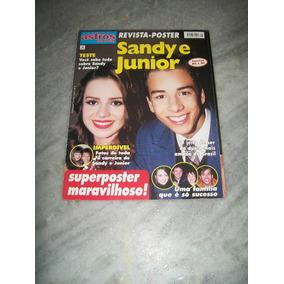 Sandy E Junior - Revista Poster Super Astros Nº 8