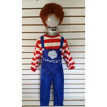 Disfraz Chucky Muñeco Malo Choky Disfraces Traje Halloween