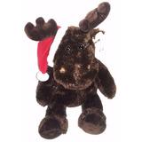 Peluche Reno Gorro Navidad Regalo Amor Decora Hogar Fine Toy
