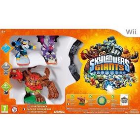 Skylanders Giants Starter Pack Wii Pacote Inicial Lacrado