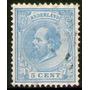 Holanda Antiguo Sello Usado Rey William 3° Años 1872-88