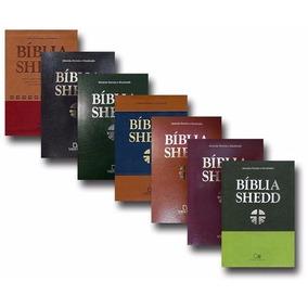 Bíblias De Estudo Shedd Luxo-todas As Cores