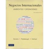 Negocios Internacionales Ambientes Y Operaciones 12ed
