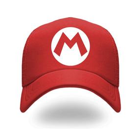 Gorra Mario Bros, Gorra De Calidad Bordada 100% Algodon