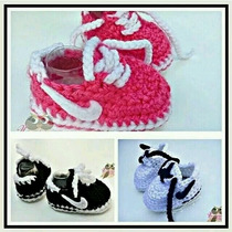 Tenis, Zapatitos Zapatos Tejidos Para Bebe 0-6 Meses