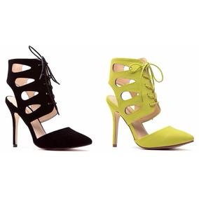 Zapatos Tacones Sandalias De Vestir Casuales Agaci Original